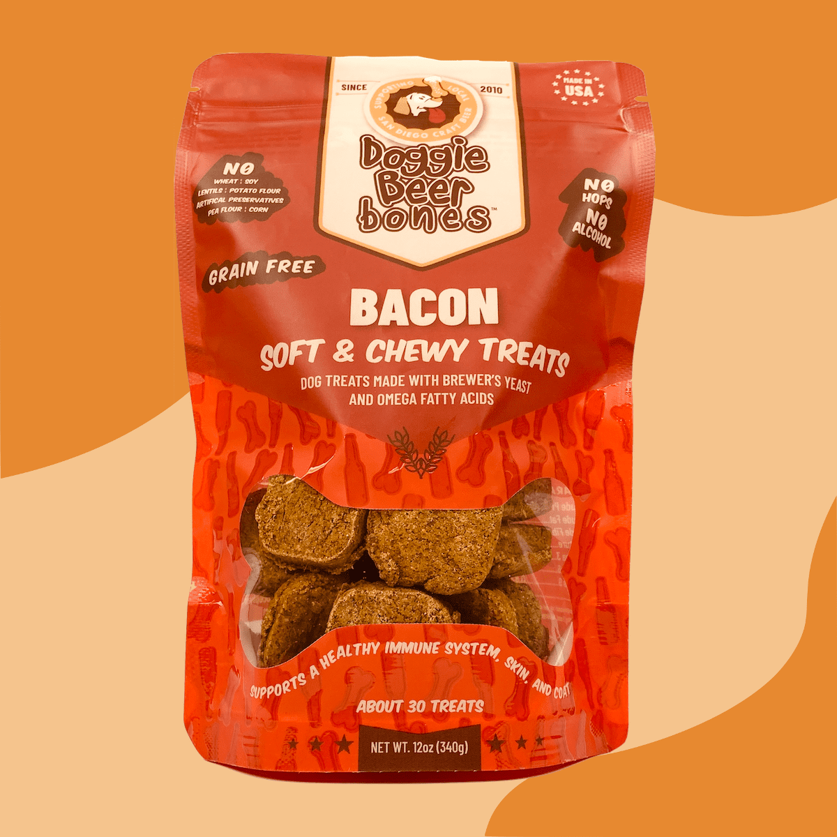 grain free bacon dog treats